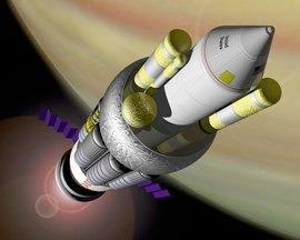 Project Orion Nuclear Rocket