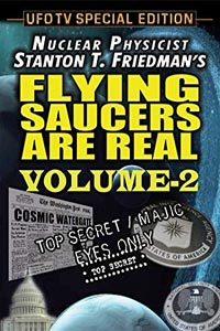 Flying Saucers Are Real - The Cosmic Watergate Volume 2 (DVD)