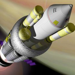 Project Orion Nuclear Rocket Proposal